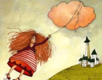 bambina-vola-legata-alla-nuvola